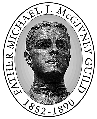 Image of Father McGivney Guild medallion